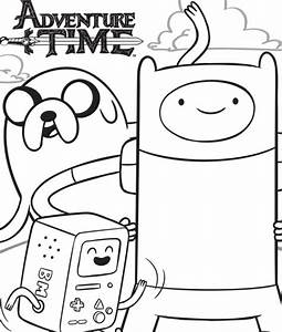 Adventure Time Coloring Pages - GetColoringPages.com
