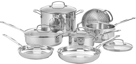 cuisinart cookware review clad stainless