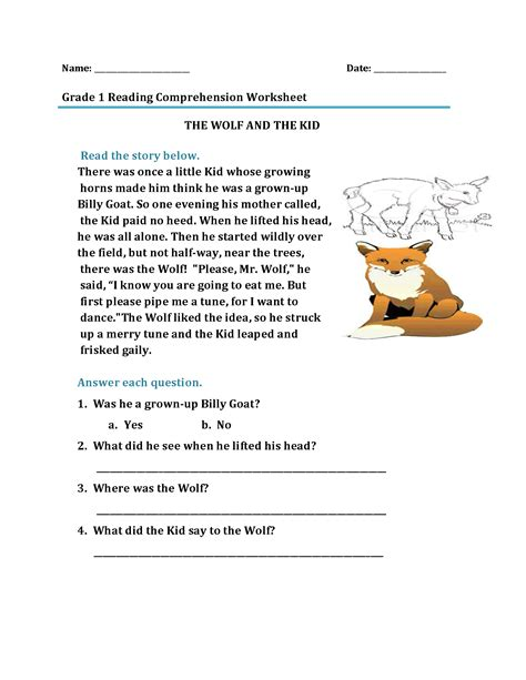 st grade reading worksheets  coloring pages  kids