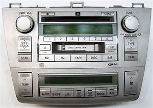 2004-2006 Toyota Solara Factory 6 Disc Changer Jbl Cd Player Oem Radio With Climate Controls