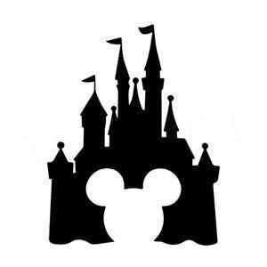 walt disney castle silhouette at getdrawings com free