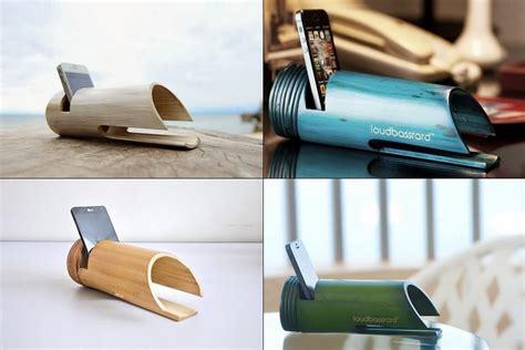 loudbasstard bamboo passive amplifier bonjourlife