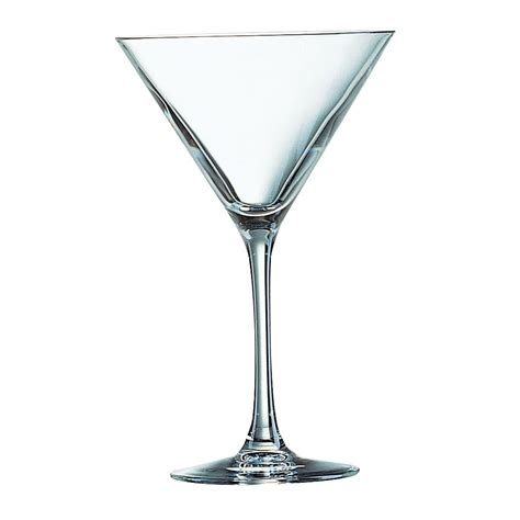 martini glass arcoroc cabernet martini cocktail glass 300ml 10 5oz