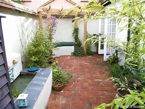 Landscape Design For Small Courtyards