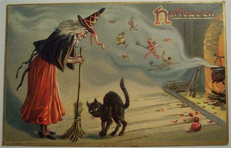 vintage halloween postcard tuck series   dave