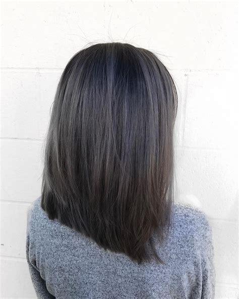 Charcoal Hair Dye by Best 25 Ash Grey Hair Ideas On Grey Brown