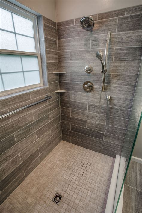 Bathroom Tile Designs Ideas by Cibuta West Lafayette Contemporary Shower Remodel 3