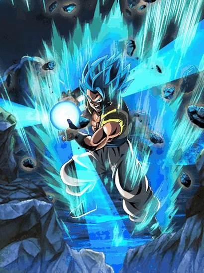 Gogeta Dragon Ball Dokkan Kamehameha Battle Gifs