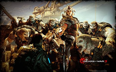 Gears Of War 3 Desktop Hd 1920x1200 Wallpapers, 1920x1200