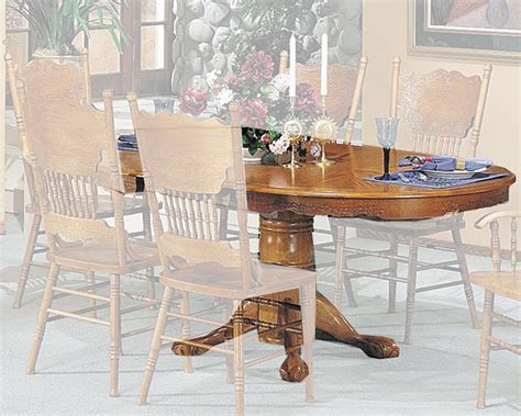 acme furniture nostalgia casual pedestal acme traditional dining table nostalgia ac02186a t