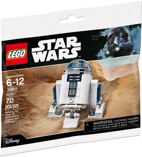 Brickfinder - LEGO Star Wars R2-D2 Polybag Coming To Singapore