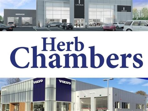 herb chambers lincoln volvo dealerships  norwood open