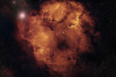 wallpaper orange nebula cosmos galaxy stars outer