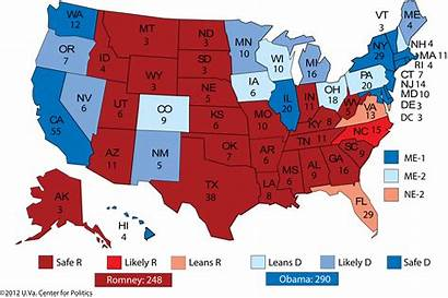 Map Electoral Sabato Political Obama College Election