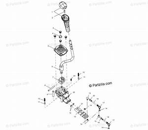 Polaris Atv 2000 Oem Parts Diagram For Gear Selector
