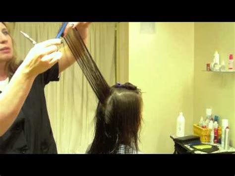 long layered haircut fine textured hair hair tutorial