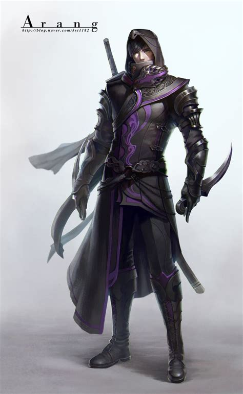 assassin by tae kwon kim arang character design