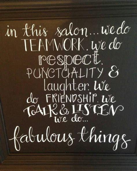 salon wall hangings inspiring quotes stylist stuff