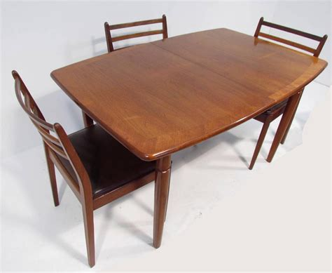 a retro teak dining table and six chairs by g plan ebay