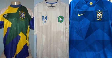 camisa azul do brasil deve relembrar camisa comemorativa de 1994 mantos do futebol