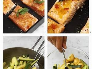 Tiefkühl Lachs Zubereiten : lachs mit senffr chten zucchini kartoffel gem se zubereiten rezept eat smarter ~ Markanthonyermac.com Haus und Dekorationen