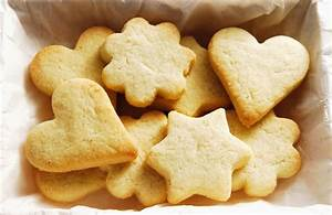 Shortbread Butter Cookie Recipe