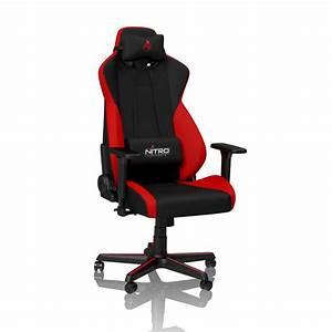 Gaming Stuhl Stoff : s300 gaming stuhl inferno red nitro concepts ~ Lateststills.com Haus und Dekorationen