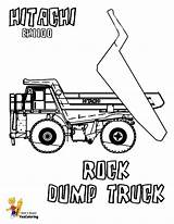 Coloring Dump Truck Pages Hitachi Trucks Boys Dirty Rock Construction Farm Colouring Equipment Yescoloring Vehicles sketch template
