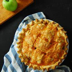 Dutch Apple Pie Recipe with Cheddar Cheese | TasteSpotting