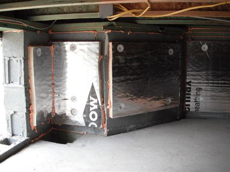 Sealed Crawlspace with Rat Slab – Stetten Home Services