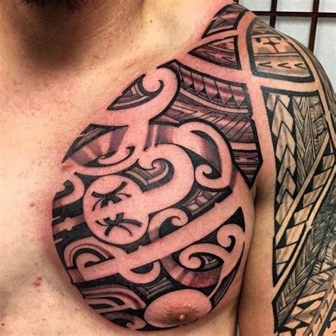 chest  sleeve guam tribal tattoo odd stuff magazine