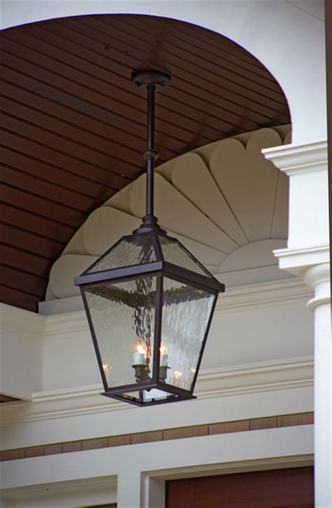 London? Lantern Porch Light Close up   Traditional   Outdoor Hanging Lights   Milwaukee   by