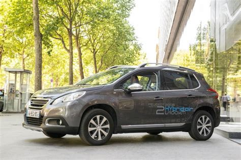 Peugeot Hybrid Air by Psa Hybrid Air Comment 231 A Marche Vid 233 O