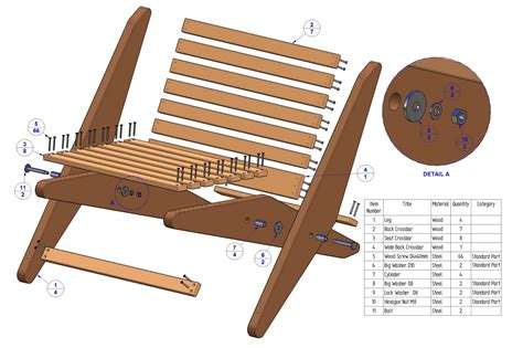 folding chair plans projects  woodworking