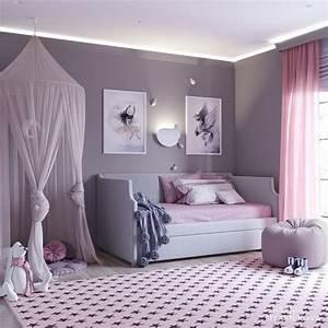 Blush, Pink, U0026, Grey, Nursery