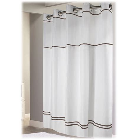 escape hookless hotel shower curtains 12