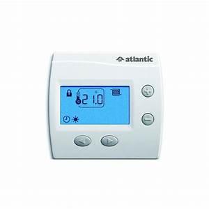 Thermostat D Ambiance : thermostat d 39 ambiance digital pour plancher chauffant ~ Edinachiropracticcenter.com Idées de Décoration
