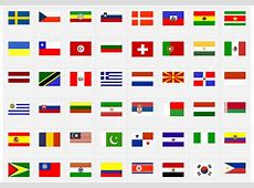 World Flags difficult version Map Quiz Game