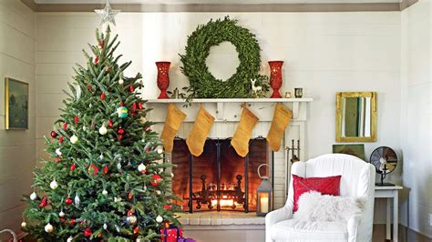 how to decorate a mantel for christmas christmas mantel decorating ideas southern living