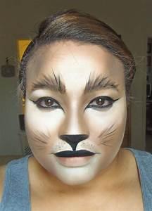 Karneval Schminken Tiere : lioness cat halloween makeup wow lieblingssachen pinterest halloween kost m and ~ Frokenaadalensverden.com Haus und Dekorationen