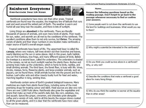 expository text worksheets 3rd grade informational text