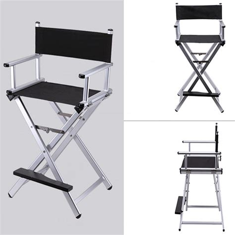high aluminum frame makeup artist director chair foldable