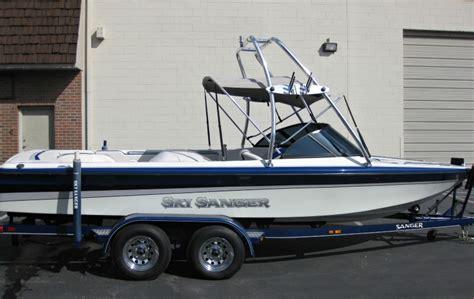 Sanger Boat Swim Platform by Sanger Dlx Ski Boat 1997 Apex Marine