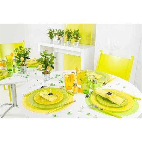 set de table papier rond set de table intisse vert