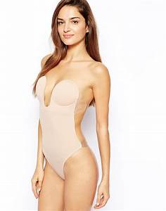 fashion forms u plunge backless strapless bodysuit i With undergarments for backless wedding dress
