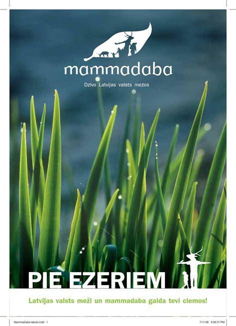 Mammadaba Pie ezeriem by Latvijas valsts meži - Issuu