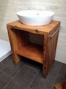 Waschtisch Holz Mit Aufsatzwaschbecken : waschtisch unterschrank holz ~ Bigdaddyawards.com Haus und Dekorationen