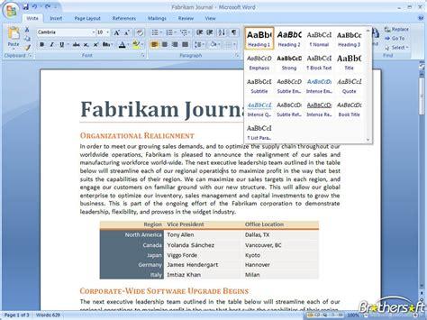 windows 7 bureau free microsoft office 2007 for windows 7