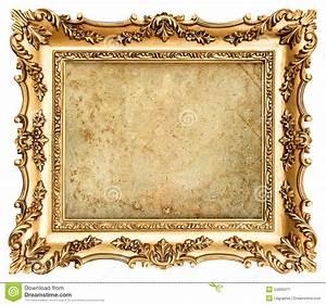 Cadre De Tableau : cadre de tableau d 39 or de style baroque avec la toile image ~ Dode.kayakingforconservation.com Idées de Décoration