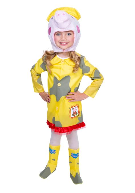 peppa pig peppa pig raincoat costume